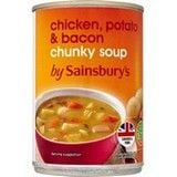 Sainsbury's Chunky Chicken Potato and Bacon Soup 400g