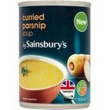 Sainsbury's Curried Parsnip Soup 400g
