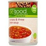 Sainsbury's Be Good to Yourself Tomato and Three Bean Soup 400g