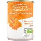 Sainsbury's Basics Creamed Chicken Soup 400g