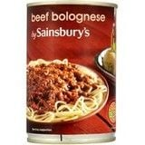 Sainsbury's Beef Bolognese 400g
