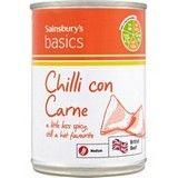 Sainsbury's Basics Chilli Con Carne 392g