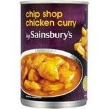 Sainsbury's Chip Shop Chicken Curry 400g