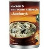 Sainsbury's Chicken and Mushroom Casserole 400g