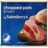 Sainsbury's Chopped Pork with Ham 340g