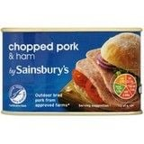 Sainsbury's Chopped Pork with Ham 200g
