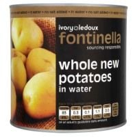 Catering Size Fontinella Whole New Potatoes in Water 2.5kg