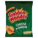 Bulk Buy Golden Wonder Cheese and Onion 32 x 32.5g