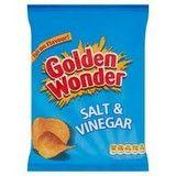 Bulk Buy Golden Wonder Salt and Vinegar 32 x 32.5g