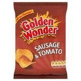 Bulk Buy Golden Wonder Sausage and Tomato 32 x 32.5g