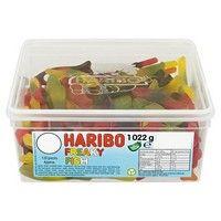 Bulk Buy Tub of Haribo Freaky Fish 120 Pieces