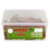 Bulk Buy Tub of Haribo Happy Cherries 120 Pieces