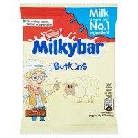 Bulk Buy Box of 48 x 30g Nestle Milkybar White Chocolate Buttons Packs