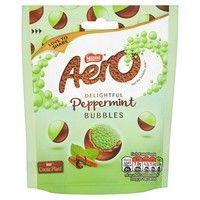 Bulk Buy Nestle Aero Bubbles Peppermint Bag 12 x 85g
