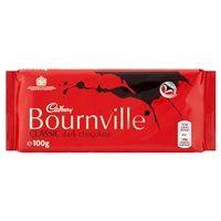 Bulk Buy Box of 18 x 100g Cadbury Bournville Classic Dark Chocolate