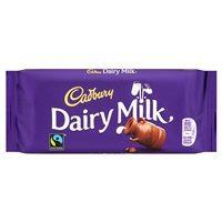 Bulk Buy Box of 17 x 110g Cadbury Dairy Milk