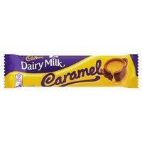 Bulk Buy Box of 48 x 45g Cadbury Dairy Milk Caramel Standard