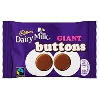 Bulk Buy Box of 36 x 40g Cadbury Dairy Milk Giant Buttons Bag