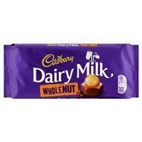 Bulk Buy Box of 13 x 120g Cadbury Dairy Milk Whole Nut