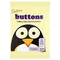 Bulk Buy Box of 60 x 14.4g Cadbury White Buttons