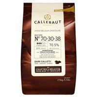 Catering Size Callebaut Finest Belgian Chocolate Dark Callets 2.5kg