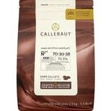 Catering Size Callebaut Finest Belgian Chocolate 70% Extra Bitter Callets 2.5kg