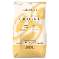 Catering Size Callebaut Finest Belgian Chocolate Select White 2.5kg