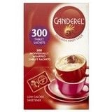 Catering Size 6 x Packs Canderel Low Calorie Sweetener 300 Tablet Sachets