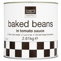 Catering Size Chef's Essentials Baked Beans in Tomato Sauce 2.61kg