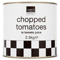 Catering Size Chef's Essentials Chopped Tomatoes in Tomato Juice 2.5kg