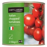 Catering Size Chef's Larder Chopped Tomatoes 2.55kg