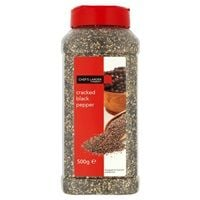 Catering Size Chefs Larder Cracked Black Pepper 500g