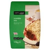 Catering Size Chefs Larder Crumble Mix 3.5kg