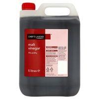 Catering Size Chefs Larder Malt Vinegar 5 Litre