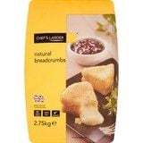 Catering Size Chef's Larder Natural Breadcrumbs 2.75kg