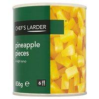 Catering Size Chef's Larder Pineapple Pieces in Light Syrup 836g