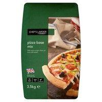 Catering Size Chefs Larder Pizza Base Mix 3.5kg