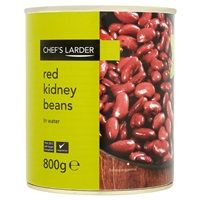 Catering Size Chef's Larder Red Kidney Beans in Brine 800g