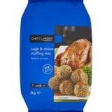 Catering Size Chefs Larder Sage and Onion Stuffing Mix 2kg