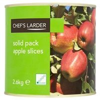 Catering Size Chef's Larder Solid Pack Apples 2.6kg