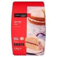 Catering Size Chefs Larder Sponge Mix 3.5kg