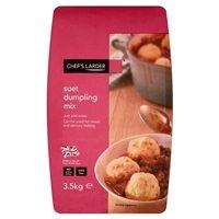 Catering Size Chefs Larder Suet Dumpling Mix 3.5kg