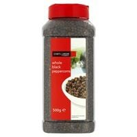 Catering Size Chefs Larder Whole Black Pepper 500g