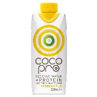 CocoPro High Protein Pineapple Coconut Water 330ml