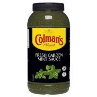 Catering Size Colmans Fresh Garden Mint Sauce 2.25 Litre