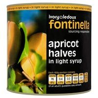 Catering Size Fontinella Apricot Halves in Light Syrup 2.5kg