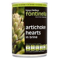 Catering Size Fontinella Artichoke Hearts in Brine 390g