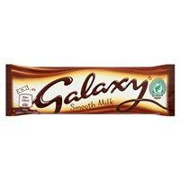 Bulk Buy Box of 24 x 42g Galaxy Smooth Chocolate Bars