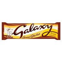 Bulk Buy Box of 24 x 48g Galaxy Caramel
