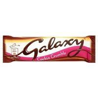 Bulk Buy Box of 24 x 40g Galaxy Cookie Crumble